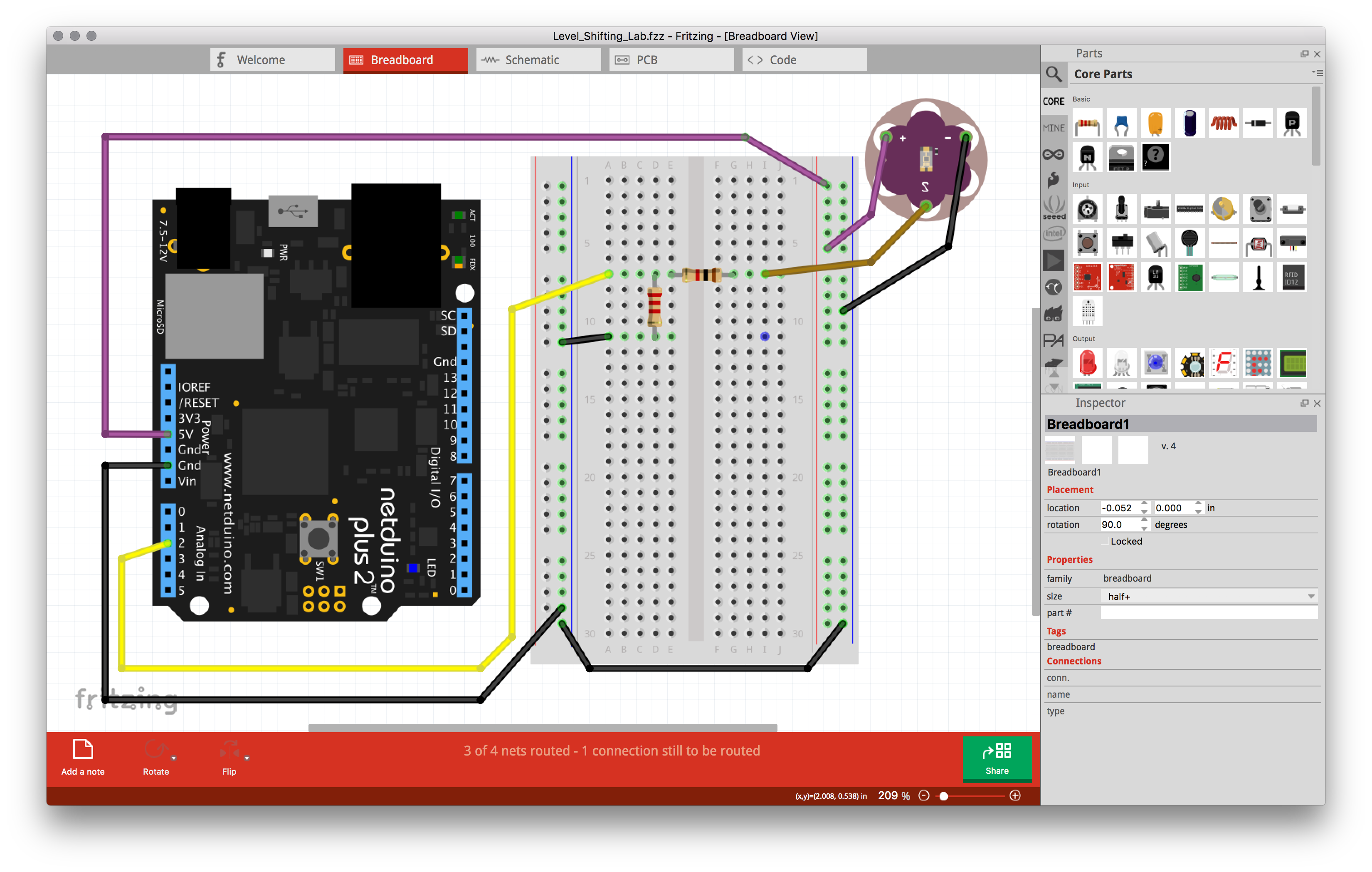 Wilderness Labs Developer Portal Ac Circuit With Dependent Voltage And Current Sources Physics Forums Much Of The Circuits Created In This Tutorial Are Done Fritzing